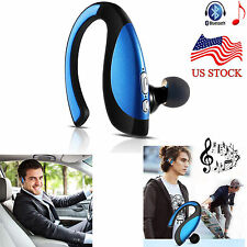 New listing Noise Cancelling Bluetooth Earphone Headset Earpiece for Android iOs Phone Model