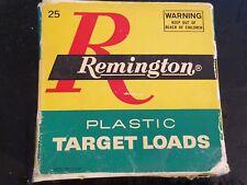 Vintage Remington 16 Gauge Plastic Target Load Ammo Shell Box - Empty