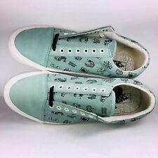 VANS Braindead Old Skool LX Granite Green Suede Sneakers VN0A38G6N9E Size 13