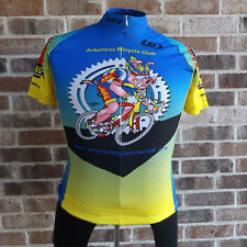Arkansas Bicycle Club Cycling Racing Jersey 3/4 Zip Louis Garneau XS