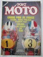 SPORT MOTO N° 24 / grand prix de France:duel Ago-Read/BMW R 90 S/350 JAWA