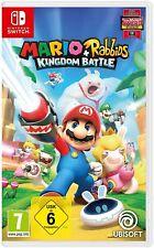 Mario & Rabbids Kingdom Battle Nintendo Switch Spiel NEUWARE OVP