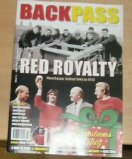 Backpass Issue 72 The Retro Football Mag Manchester Utd 1945 to 1970