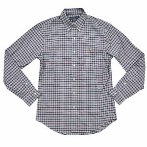 Ralph Lauren Shirt Mens Shirt Slim Fit Oxford Long Sleeve Buttondown New Nwt Rl