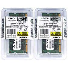8GB KIT 2 x 4GB HP Compaq Presario CQ56-219WM CQ57 CQ57-105TU Ram Memory