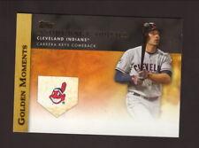 Asdrubal Cabrera--2012 Topps Golden Moments Baseball Card--Cleveland Indians