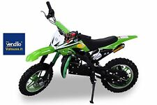 Minimoto Cross 50cc  DIRT green 10 pollici mini moto