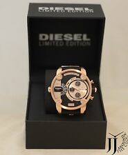 New Diesel Men's Little Daddy Limited Edition Chronograph Dual Time Watch DZ7282