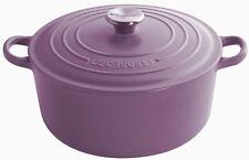 Le Creuset 7.25 Cast Iron Round Dutch Oven 7 1/4 Quart Purple Amethyst NIB $370