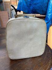 Vintage Antler Cream Vanity Small Suitcase Needs Cleaning