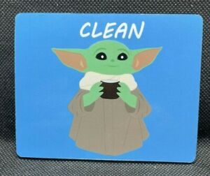 Dishwasher Magnet Clean Dirty Baby Yoda