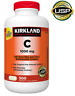 Kirkland Signature Vitamin C 1000 mg, 500 Tablets,***USP Verified**