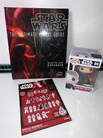 Star Wars Bundle Han Solo Pop! Figure 86 Battle Magnets & Ultimate Visual Guide