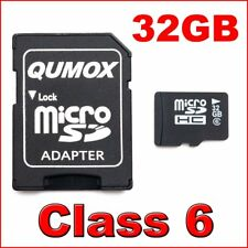 QUMOX 32GB Class 6 Micro SD SDHC MicroSD Memory Card 32 GB