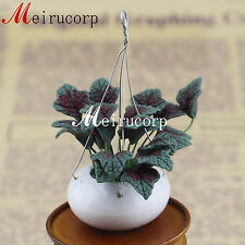 1/12 scale miniature flower mini beautiful plant for dollhouse decoration