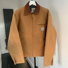 Vintage CARHARTT Duck Detroit Jacket in Brown, size Large