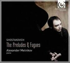 Shostakovich The Preludes & Fugues 3149020201909 CD