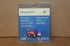 VW Beetle model car 2GB USB memory stick 111087620 004 Genuine VW merchandise