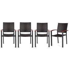 New Bamboo Deck Chair Footrest Furniture Patio Garden Beach Yard Outdoor B9G3