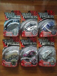 Lot Transformers Movie Arcee stockade wreckage dropKick payload bonecrush Figure