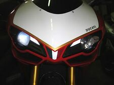 ►2X DUCATI 848,1098,1098S LED 1W STANDLICHT XENON Metallsockel BAX9S/BAY9S/9mm