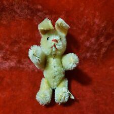 """Vtg Steiff 3"""" Jointed Bunny Rabbit Plush Sonny ? Niki ?"""