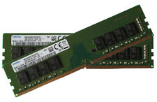 Neues AngebotSamsung 32gb (16gb x 2) ddr4 pc4-21300 2666mhz 288 PIN DIMM 1.2v CL 19 rmemory
