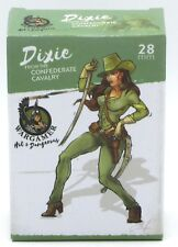 Wargamer HD-28-13 Dixie Confederate Cavalry (28mm) Hot & Dangerous Female Hero