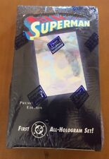 Skybox Fleer Superman DC Comics' First All-Hologram Set 36 Count from 1996