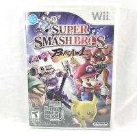 Super Smash Bros. Brawl (Nintendo Wii, 2008)  *FREE FAST SHIPPING*