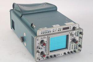 Tektronix 468 Portable Benchtop Numérique / Analogique Rangement Oscilloscope