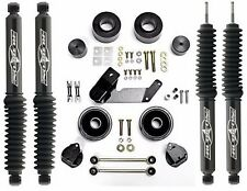 "Rubicon Express 2.5"" Lift/Leveling Kit & Twin Tube Shocks 07-17 Jeep Wrangler JK"