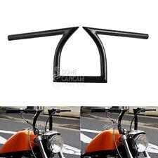 "Black 1"" Z Handlebar Drag Bar For Harley Sportster XL 883 1200 Softail Dyna"
