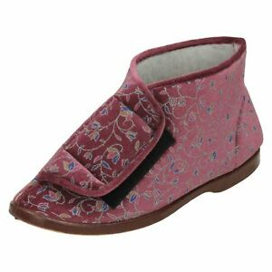 Ladies Lady Love Boot Slippers Edith
