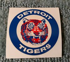 VINTAGE LATE 1960's OR EARLY 70' DETROIT TIGERS WATER TRANSFER STICKER​ DECAL