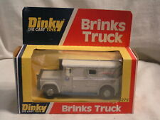 DINKY MADE NO. 275  BRINKS TRUCK IN THE DISPLAY BOX