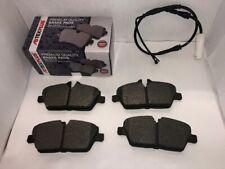 Front Brake Pads & Sensor For BMW 1 Series E81 E82 E87 E88 2004-2013