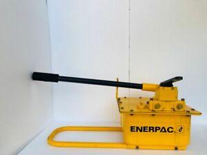 ENERPAC P464 HYDRAULIC HAND PUMP WITH 4 WAY VALVE 700 BAR/10,000 PSI