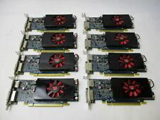 LOT OF 8 Dell AMD Radeon HD 7570 1GB Graphic DVI & Display Port 0KFWWP Low Pro.