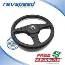 ALPINA BMW by MOMO Steering Wheel 3 Spokes Black Leather 360mm w/o HUB Genuine