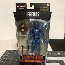 Marvel Legends Hologram Iron Man Figure New In Box Hasbro 2021 Ursa Major Head
