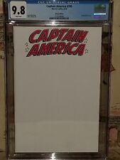 Marvel Captain America #700 Sketch Cover CGC 9.8