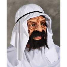 OIL BARON MOVING MOUTH MASK ARAB SHEIKH FANCY DRESS