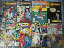Excalibur (1988) #1-20 Marvel UK X-Men Truth Justice & Stiff Upper Lips!