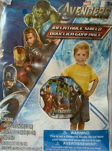 "AVENGERS  27"" INFLATABLE SHIELD * Marvel Iron Man Thor Hulk Captain America  NEW"
