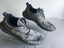 Nike Roshe NM FB Flat Silver Grey Camo Roshrun Mens Running 685196-004 Size  13 8b470304e