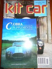 Kit Car Nov 1990 Cobra, GD427, Nova