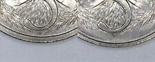 1984 Australian 5 Cent Coin Set - LOW & HIGH ECHIDNA VARIETY - VERY SCARCE SET 1