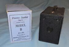 Kodak Premo Junior Number 1 Model B Camera in Original Box - C2779