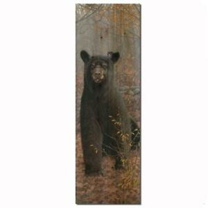Bear Wall Art Wooden Stonewall Rustic Indoor Outdoor Decor Gift Cabin Lodge NEW